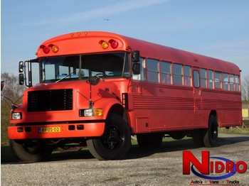 International BLUE BIRD - SCHOOLBUS - FOODTRUCK - autocar