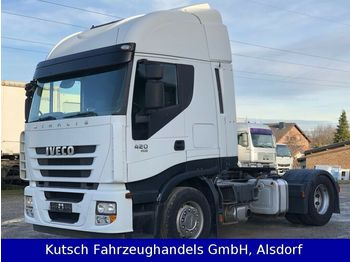 Iveco AS 420 Cube mit Schubbodenhydraulik  - cabeza tractora