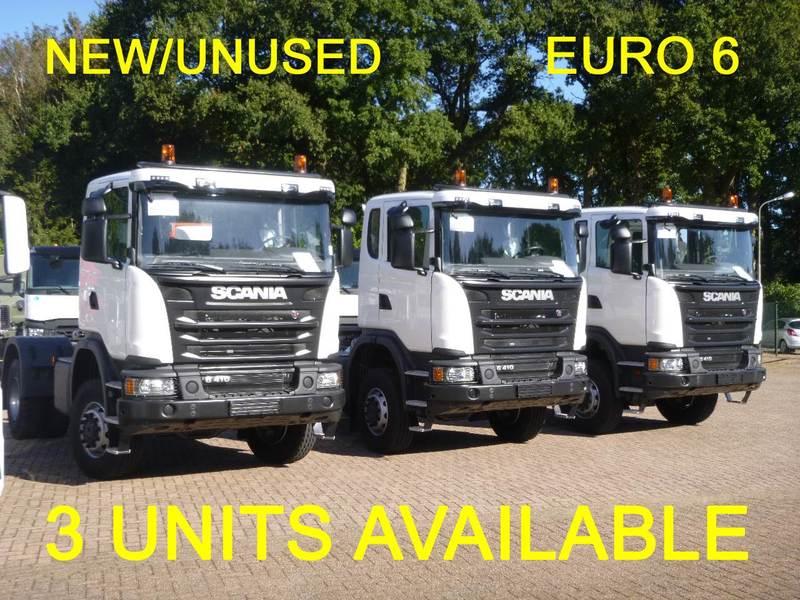 Cabeza tractora Scania G410 4X4 manual Euro 6 PTO / NEW/unused — 2990173