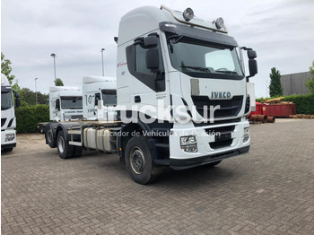 Portacontenedore/ intercambiable camión Iveco STRALIS AS480.26
