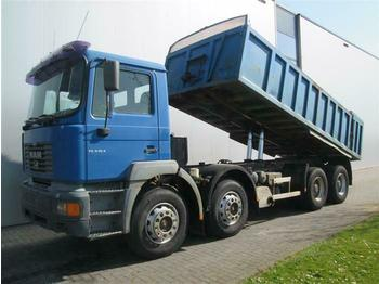 MAN 32.414 8X4 MANUAL FULL STEEL HUB REDUCTION EURO  - volquete camión
