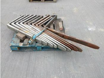 Forks to suit Forklift (10 of) - horquillas