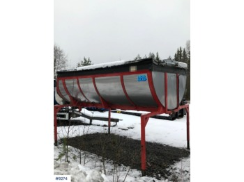 Norslep asphalt tub for truck - implemento