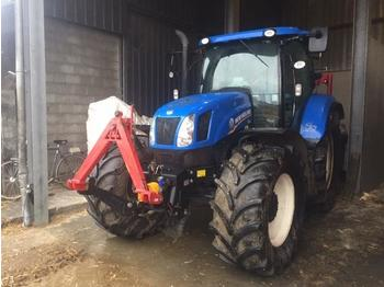 NEW HOLLAND T6.155EC TRACTOR - tractor agricola