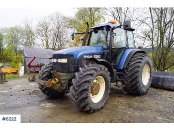 New Holland 8360 - tractor agricola