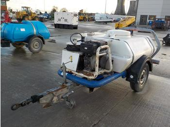 Brendon Bowsers Single Axle Plastic Water Bowser, Pressure Washer - compresor de aire
