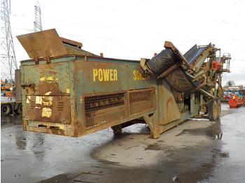 Powerscreen Chieftain 800 - cribadora