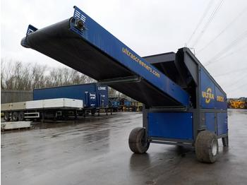 Ultra Spreader Single Axle Draw Bar Screener - cribadora