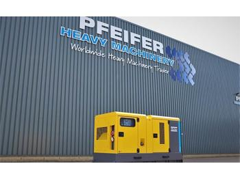 Generador industriale Atlas Copco QAS 60 ST3 Diesel, 60 kVA, Also Available For Rent