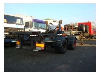 Pacton 40 ft container chassis - portacontenedore/ intercambiable semirremolque