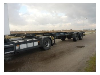 Pacton Container chassis 2 axle 40ft - portacontenedore/ intercambiable semirremolque