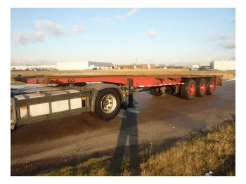 Pacton Container chassis 3axle 40ft - portacontenedore/ intercambiable semirremolque