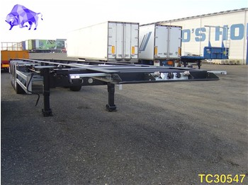 TURBOS HOET Container Transport - portacontenedore/ intercambiable semirremolque