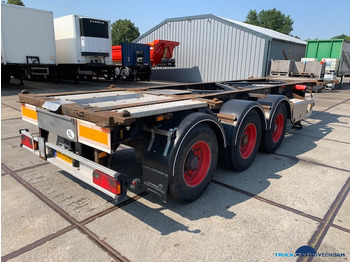 Van Hool containerchassis 20-30-40 ft ADR 3B2015 - portacontenedore/ intercambiable semirremolque