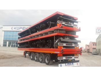 Semirremolque plataforma/ caja abierta LIDER 2020 YEAR NEW TRAILER FOR SALE (MANUFACTURER COMPANY)
